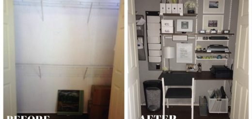 Almost any space, even a closet, can be transformed into an organized home office. (Submitted photo)