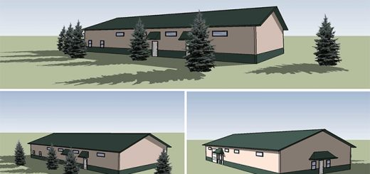 A rendering of the Open Doors facility is expected to open in spring 2017. (Submitted rendering)