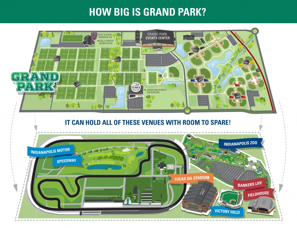 How big is Grand Park