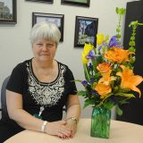 Susan Hobson retires from Carey Ridge Elementary after serving 18 years as principal. (Photo by Anna Skinner)