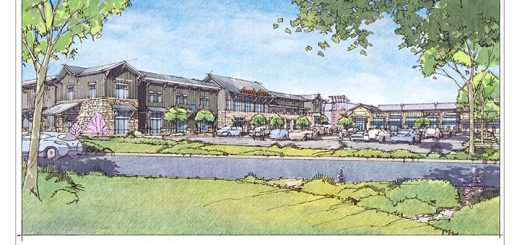 A rendering of the proposed development at The Farm. (Submitted rendering)