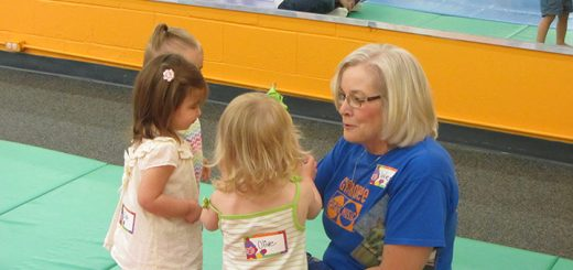 Wendy Shultz teaches a group of toddlers at Gymboree. (Submitted photo)​