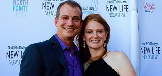 """Jeff and Kristen Wells (Noblesville) paused for Where's Amy on the red carpet for the upcoming film """"New Life"""" coming to theaters in Indianapolis and other select cities in October. (Photos by Amy Pauszek for Current Publishing LLC. Copyright 2016. All Rights Reserved.)"""