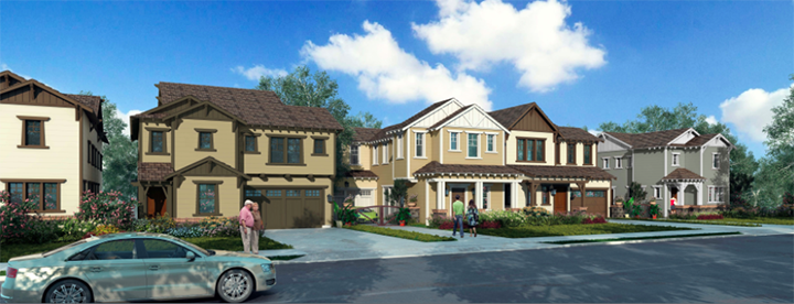 Developers are proposing 249 new homes in The Legacy development. (Submitted rendering)