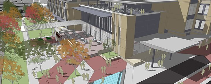 Anthony's at Monon and Main will feature fine dining, a rooftop bar, outdoor seating and a view of the park. (Submitted image)