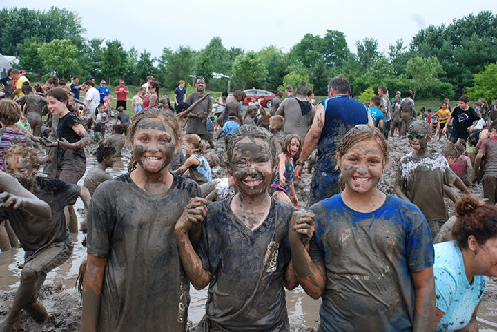 More than 3,000 people came out to last year's Mud Day at Cyntheanne Park, where Fishers Parks and Recreation officials tilled a field and added 20 tons of dirt plus 50,000 gallons of water to create a giant mud pit for visito