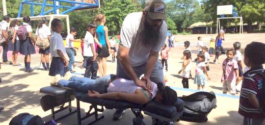 Dr. David Swiney, a chiropractor from Zionsville, serves in Nicaragua. (Submitted photo)