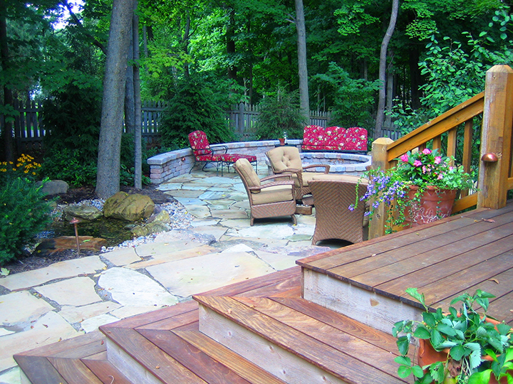 Enjoy a break from technology and design a space to live outside. (Submitted photo)