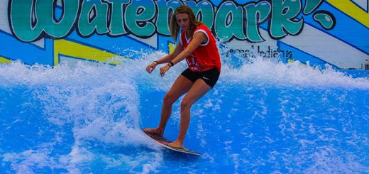Colleen Rose, Carmel, competes in the 2015 flowboarding at The Waterpark. (Submitted photo)