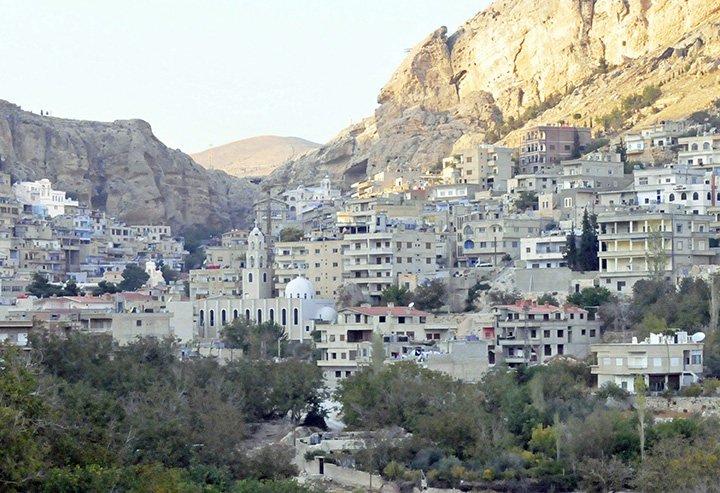 Ma'loula, Syria, in November 2010 (Photo by Don Knebel)