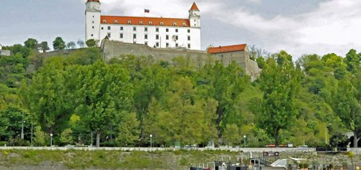 The castle in Bratislava, Slovakia. (Photo by Don Knebel)