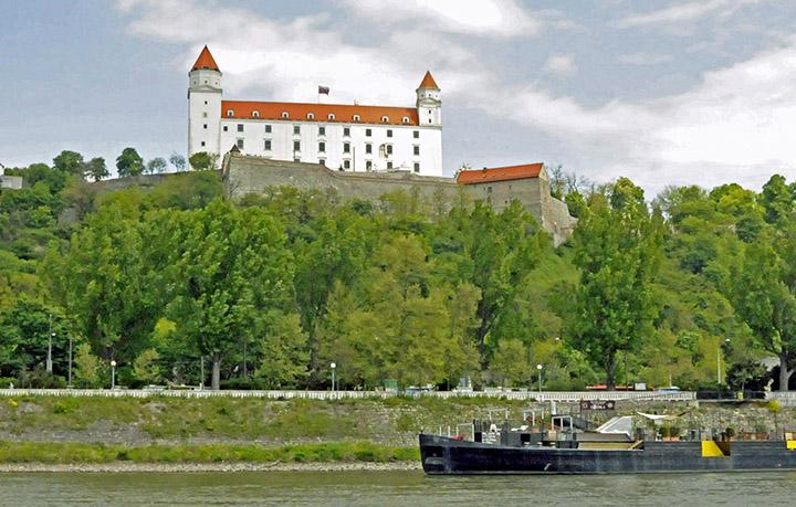 The castle in Bratislava, Slovakia. (Photo by Don Knebel)