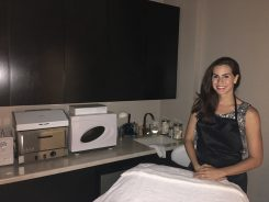 Megan Ernstberger recently opened her new skincare business in the Carmel City Center. (Submitted photo)