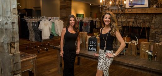 Jennifer Alter, right, and JoLynda Wilson are the creators of J&J Petite Boutique. (Submitted photo)