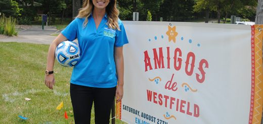 Emily Clark, community event manager, is organizing Amigos de Westfield. (Photo by Anna Skinner)