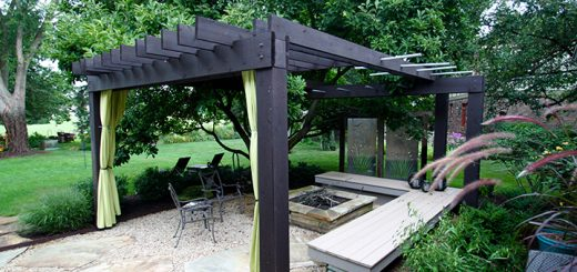 The predominantly year-round space allows for comfortable summer outdoor entertaining in the respites of shade where cool breezes meander through. (Submitted photo)