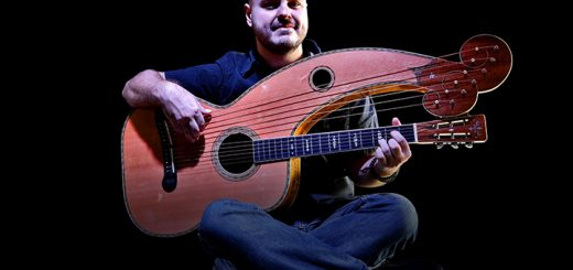 Andy McKee plays a 12-string acoustic guitar. (Submitted photo)