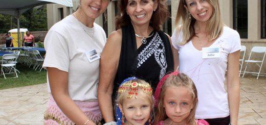 St. George Youth Dance Members Natalie Woodward (Fishers), Daniela Lulgjuraj (Fishers), Ludmila Woodward (Fishers), Diana Najjar (Carmel) and Julia Lulgjuraj (Fishers).