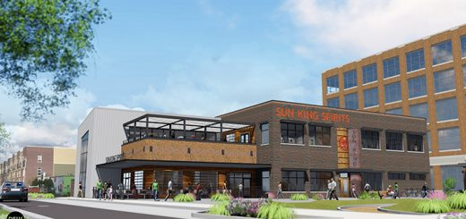 Sun King's new distillery and tap room at Midtown Plaza. (File photo)