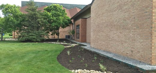 The pollinator garden at Orchard Park Presbyterian Church. (Submitted photo)