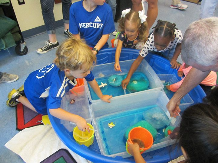BOUNCE events offer hands-on learning stations for kids to play and engage. (Submitted photo)