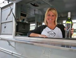 Jenn Kampmeier and the Vino Mobile Bar will be part of the Wine-Not Fight the Fight event Sept. 15. (Submitted photo)