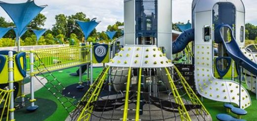 The West Commons playground opened Sept. 2. (Submitted photo)