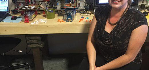 Carolee Tremain launched her Maker Navigator program last September. (Photo by Anna Skinner)