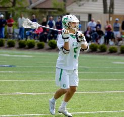 Richie Krolewski has a 4.22 GPA and made varsity on Cathedral's Lacrosse team his freshman year. (Submitted photo)