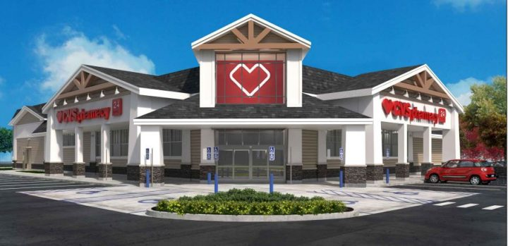 The CVS Pharmacy has residential aspects. (Submitted rendering)