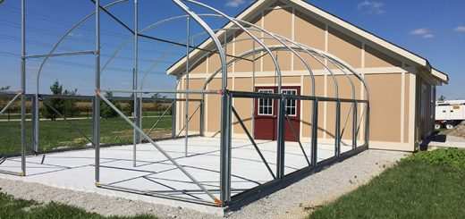 The ribbon-cutting ceremony for Maple Glen Elementary School's greenhouse and outdoor classroom will be Sept. 23. (Photo by Anna Skinner)