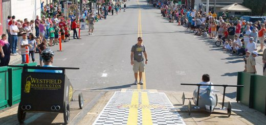 The derby takes place at Union and Main streets. (File photo)