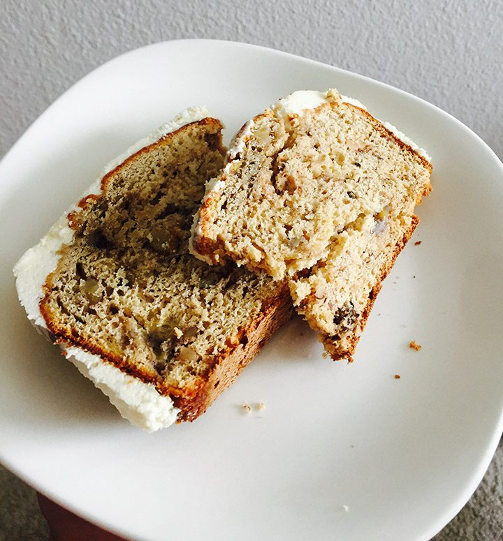 Freshly baked banana nut bread can be made for dessert, a snack or fun breakfast. (Submitted photo)