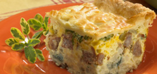 The sausage pastry bake. (Submitted photo)