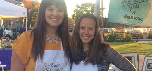 From left, Cafe Baby co-owner Jeannie Marrugo and The 2nd You's Rachel Tabler, who will host the Mommy and Me event. (Submitted photo)