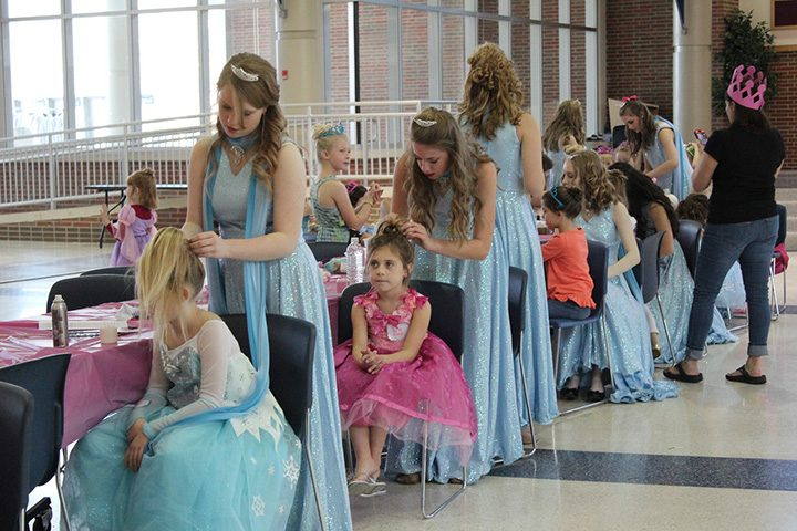 The Accents' Princess Academy is returning Nov. 5. (Submitted photo)