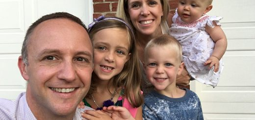Chris and Erica Belli and their children, Addisen, Ryder and Harper, recently moved from Melbourne, Australia, to Carmel. (Submitted photo)