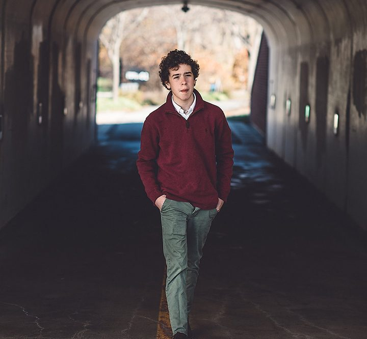 """Ashton Gleckman, 16, of Carmel started his own film company and music composition company. He will debut his first full- length film, """"Obscurity,"""" Oct. 29 at Flix Brewhouse. (Submitted photos)"""