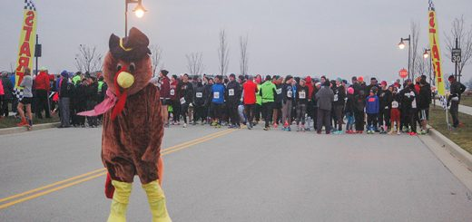 The fifth-annual Gobblers Jog 5K will be Nov. 24. (Submitted photo)