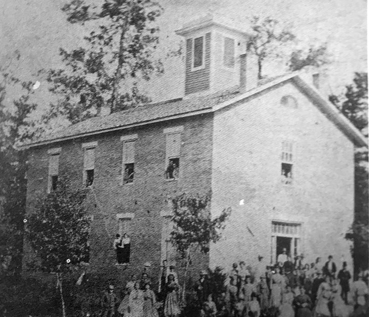 Union High School as it originally looked in 1865. (Submitted photo)
