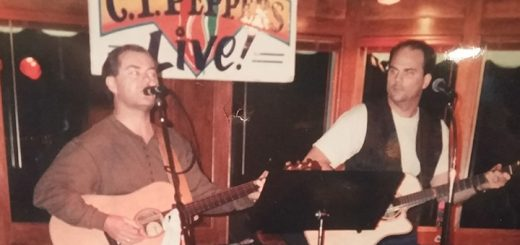 James Taylor has been playing in bands since he was a child. He played with Dave Smith, also of Carmel, in a band called Taylor and Smith in the 1990s. (Submitted photo)