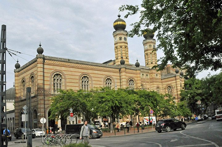 Great Synagogue in Budapest, Hungary. (Photo by Don Knebel)
