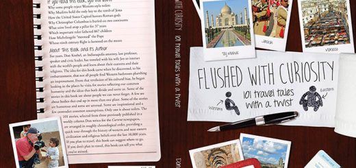 Cover of Flushed with Curiosity (Photo by Don Knebel)