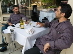 Andrea Melani and Emilio Cento, co-owners of Convivio. (Submitted photo)