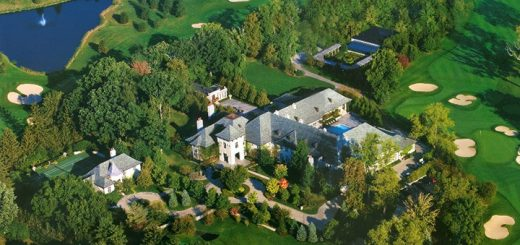 The 107-acre Simon estate known as Asherwood. (Submitted photo)
