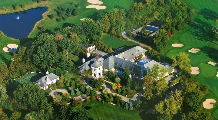 The 107-acre estate of Melvin and Bren Simon could be transformed into an exclusive neighborhood known as Asherwood. (Submitted photo)