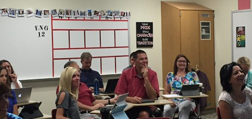 Hamilton Southeastern teachers learn at Launching INquiry over the summer. (Submitted photo)