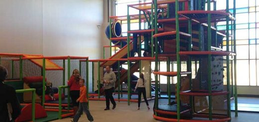 The new indoor playground is expected to be a big hit for families. (Submitted photo)