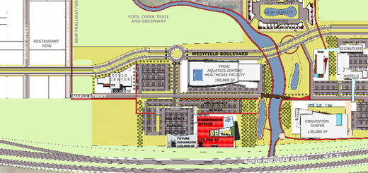 The site development plan. (Submitted image)
