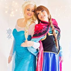 The Snow Sisters will be a new activity offered at Westfield in Lights this year.